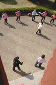 outdoors fitness class